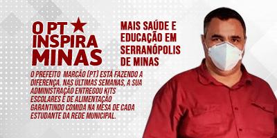 Mais saúde e educação em Serranópolis de Minas