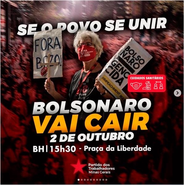 PTMG-FORA BOLSONARO
